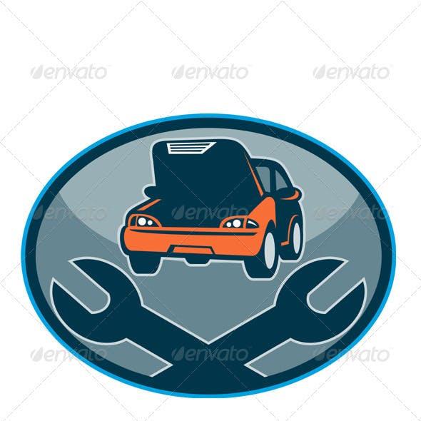 Car Repair Automotive Shop Spanner