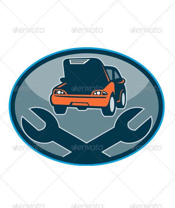 Car Repair Automotive Shop Spanner - Industries Business