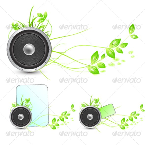 Sounds of nature. Environmental concepts