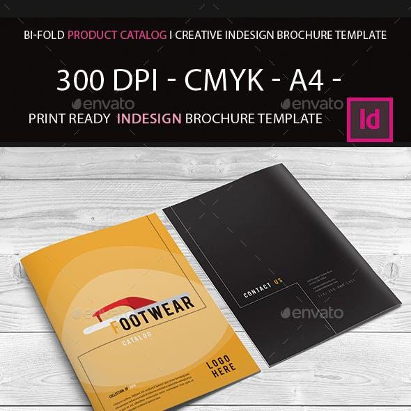 Bi-Fold Product Catalog I Creative Indesign Brochure Template
