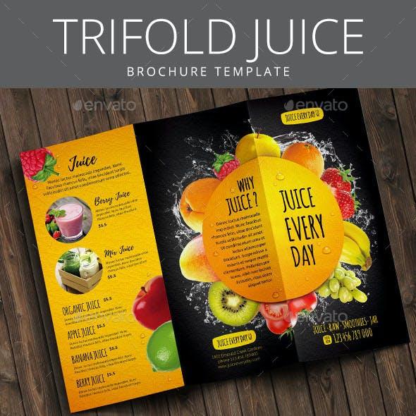 Trifold Juice Brochure