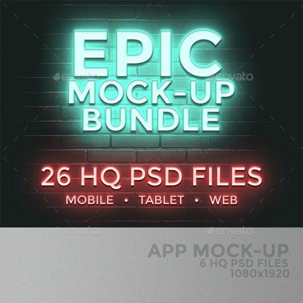 EPIC MOCK-UP BUNDLE