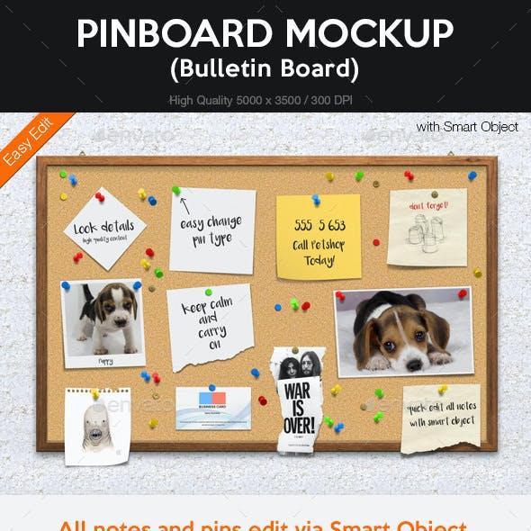 Pinboard Mockup