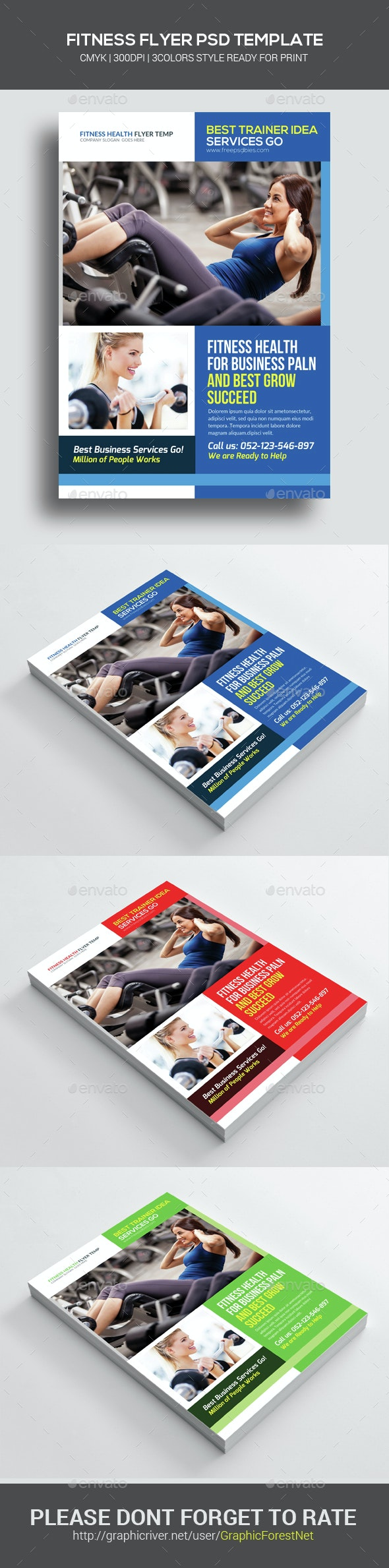 Health & Fitness Flyer - Corporate Flyers