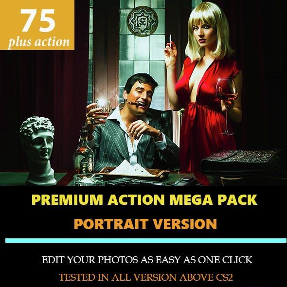 Premium Portrait Mega Action Set