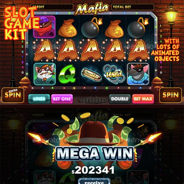 Mafia slot game kit