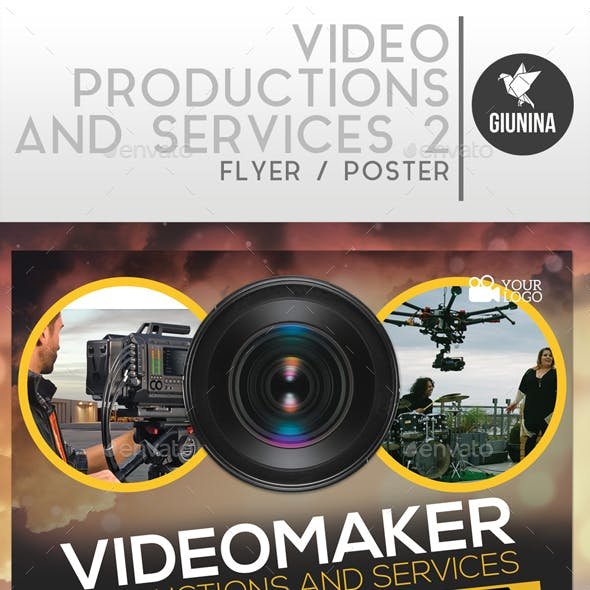 Video Production And Services 2 Flyer/Poster
