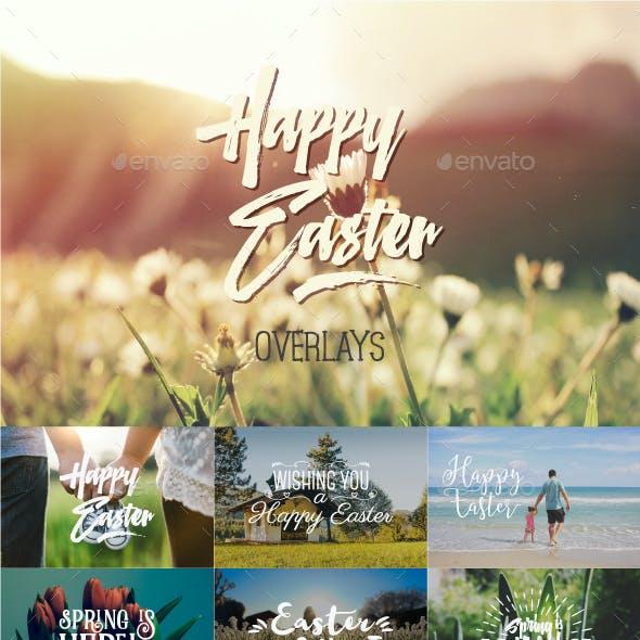 Easter Overlays & Lettering