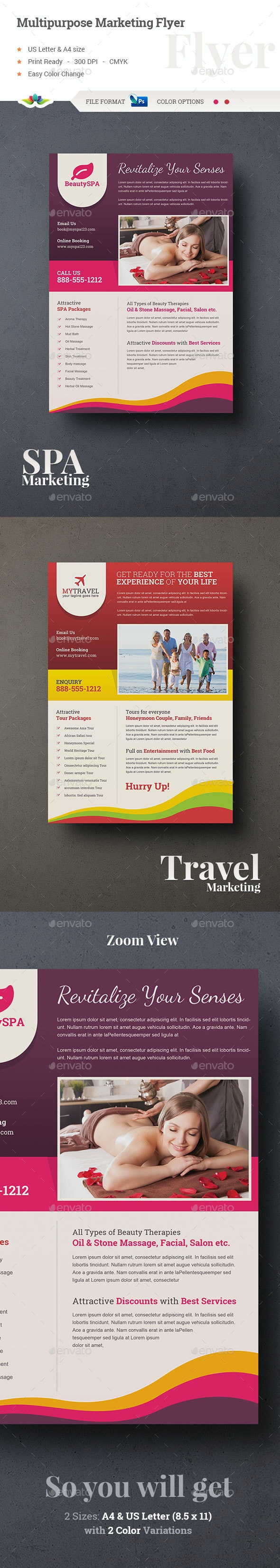 Multipurpose Marketing Flyer - Corporate Flyers