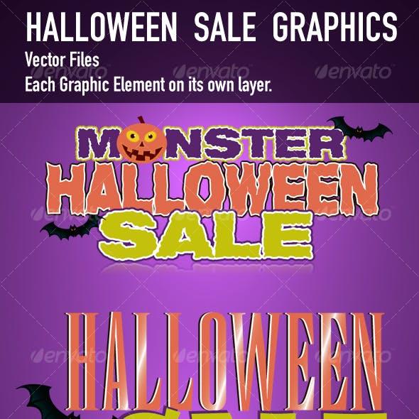 Halloween Sale Art Graphics