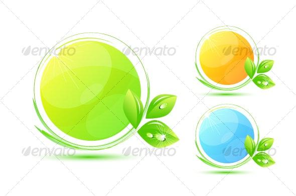 Environmental symbols - Nature Conceptual