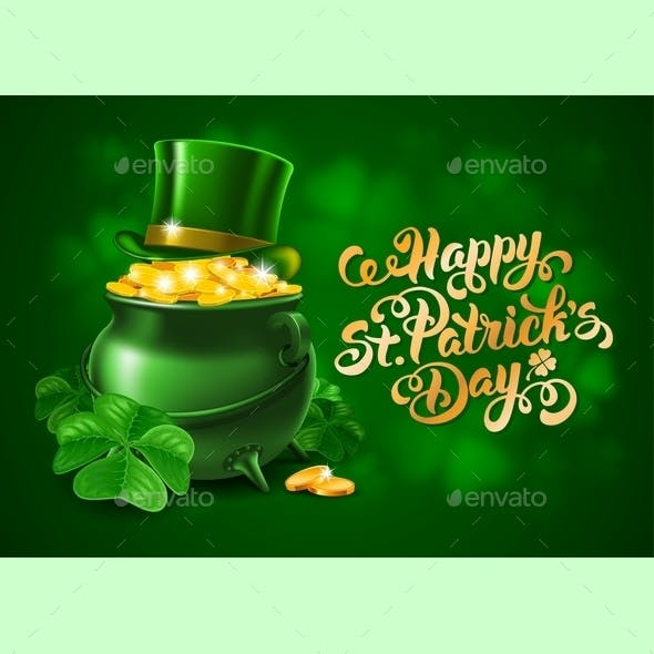 Saint Patricks Day Greeting Design