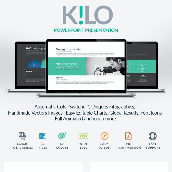 Kilo | Powerpoint template