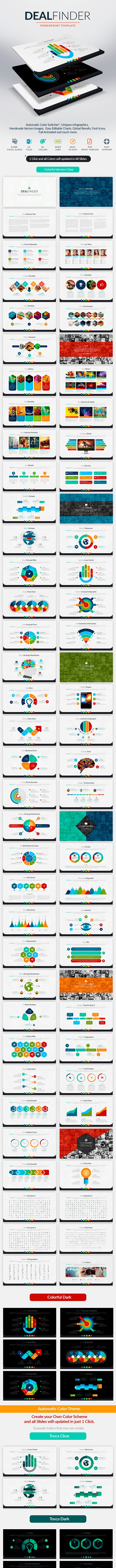 Deal Finder | Powerpoint Template - Business PowerPoint Templates