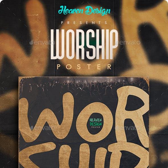 Worship Night | Poster