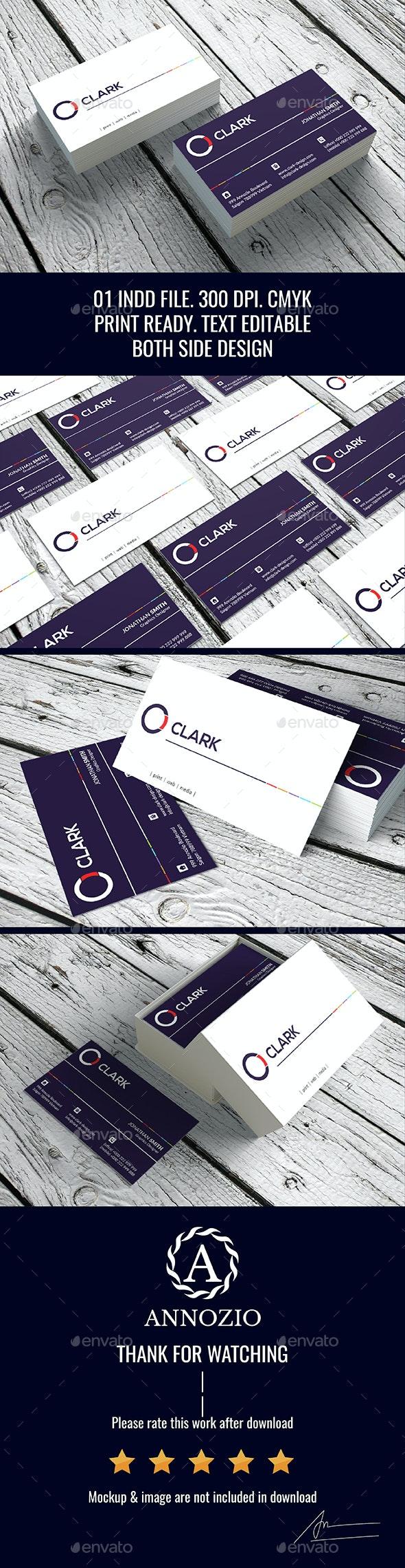Minimal Creative BC InDesign 0012 - Creative Business Cards