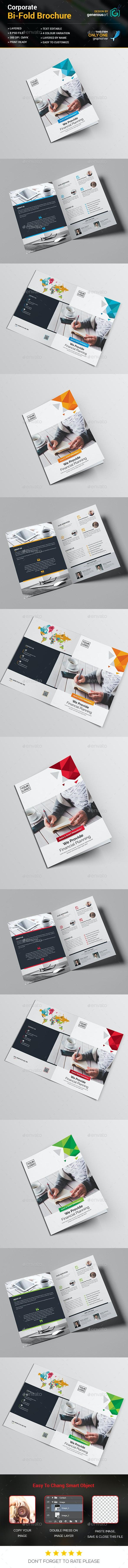 Pro Bi-Fold Business Brochure - Corporate Brochures