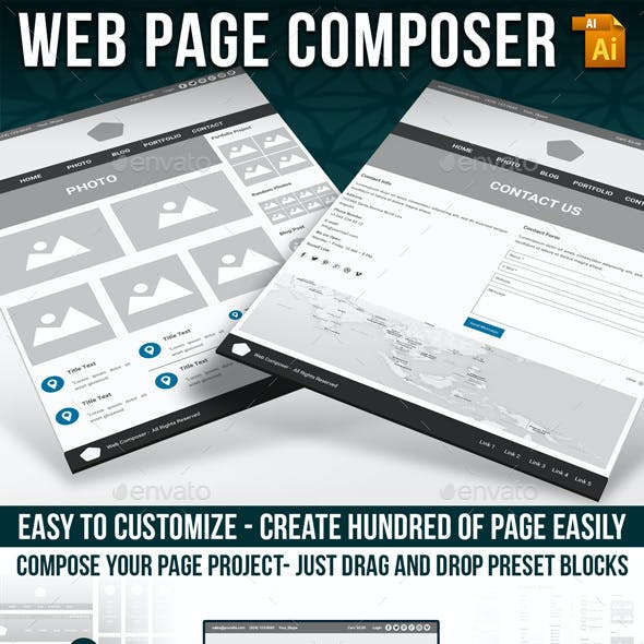 Wireframe Web Kit