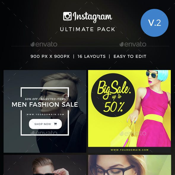 Instagram Ultimate Pack Vol 2