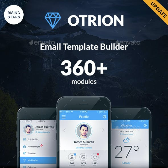 Otrion - E-mail Template Builder
