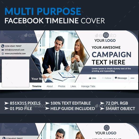 Multipurpose Facebook Timeline Covers