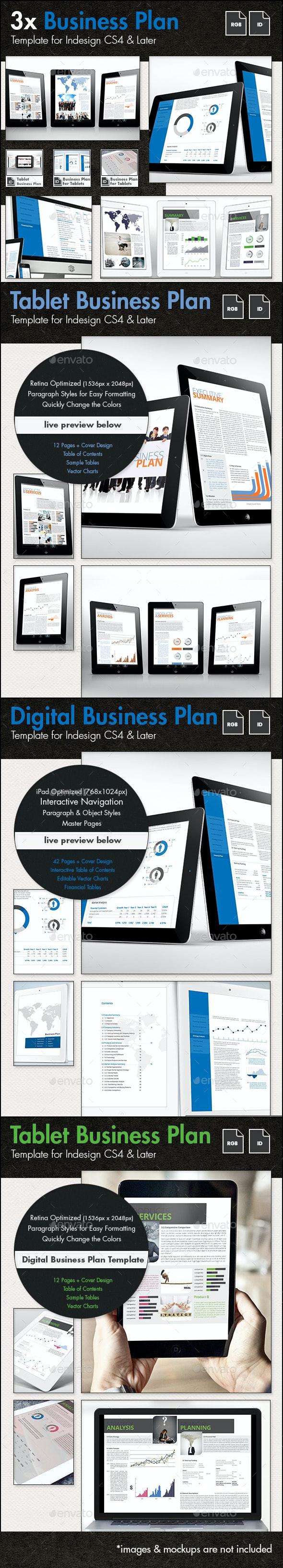 Business Plan for Tablets - The Bundle - Digital Books ePublishing