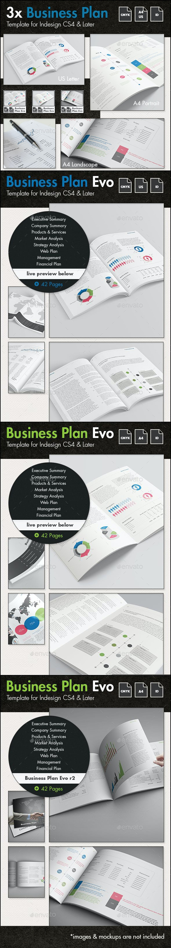Business Plan Evolved - The Template Bundle - Corporate Brochures