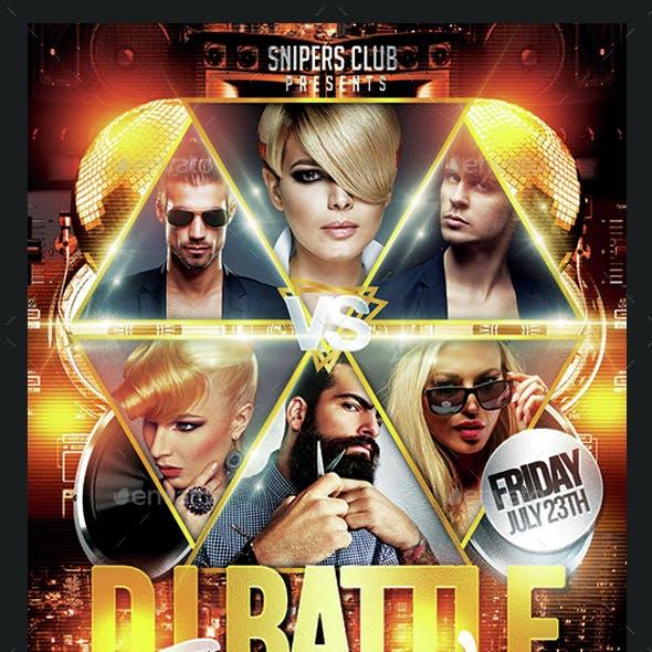 Dj Battle Saturday