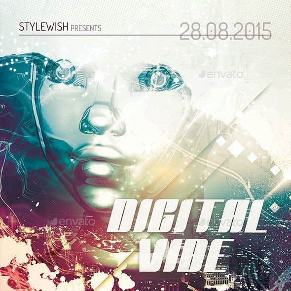 Digital Vibe Flyer