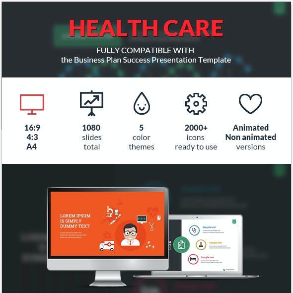 Health Care Success Presentation Template