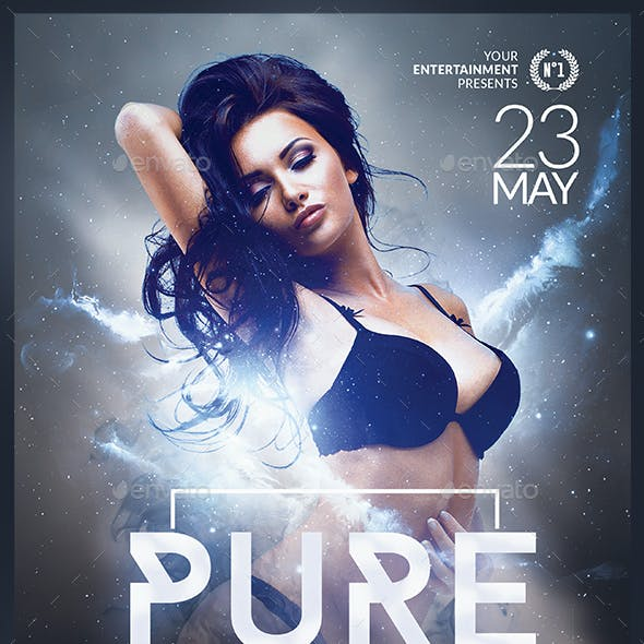 Pure Electro Flyer | Psd Template