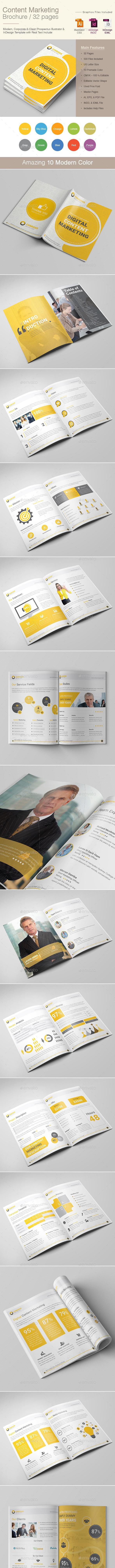 Content Marketing Brochure - Corporate Brochures