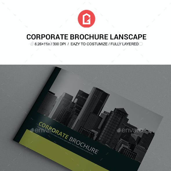 Corporate Brochure Landscape