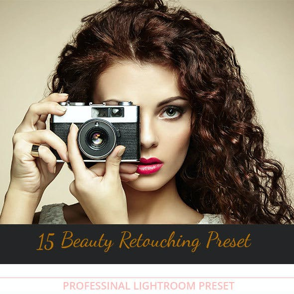 Beauty Retouching Preset