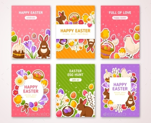 Happy Easter Posters - Miscellaneous Seasons/Holidays