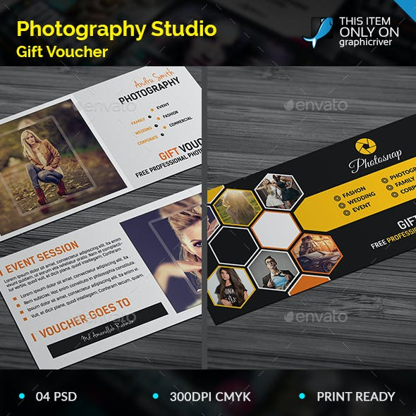 Photography Gift Voucher Bundle