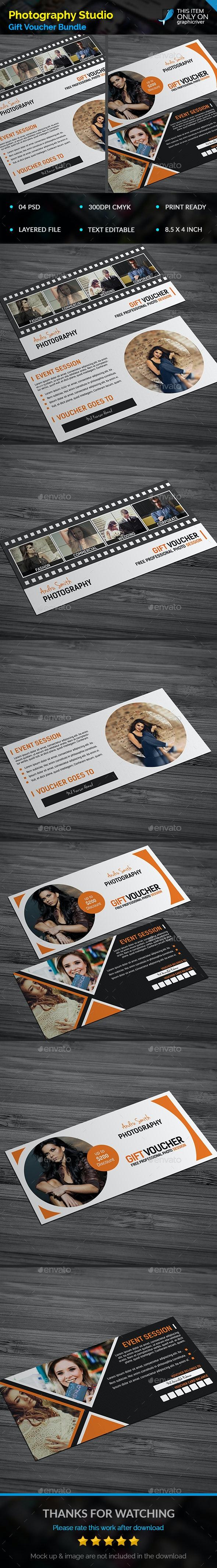 Photography Gift Voucher Bundle - Informational Brochures
