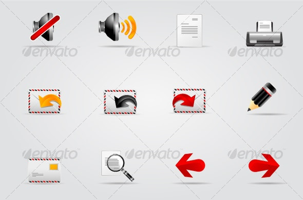 Melo Icon set. Website and Internet icon #2 - Web Icons
