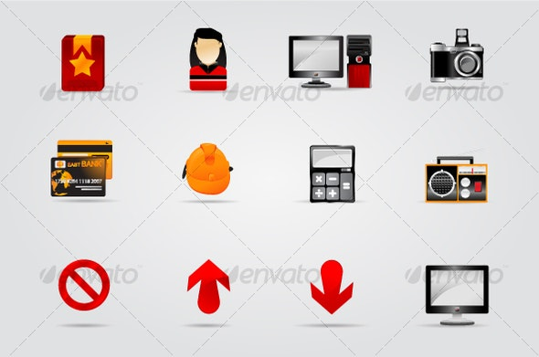 Melo Icon set. Website and Internet icon #4 - Web Icons