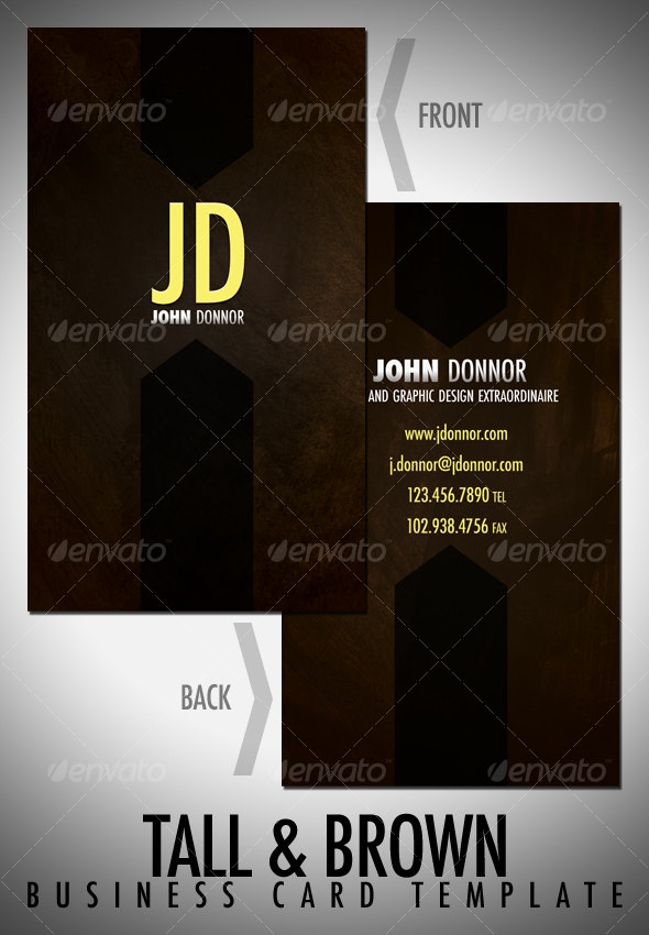 Tall&Brown - Corporate Business Cards
