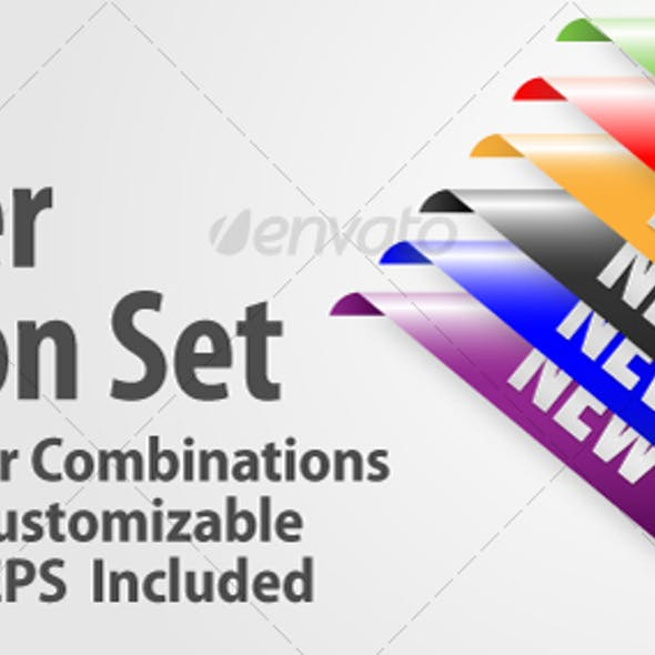 New Corner Ribbon Set