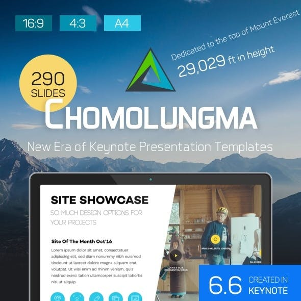 Chomolungma — Ultimate Keynote Presentation Kit