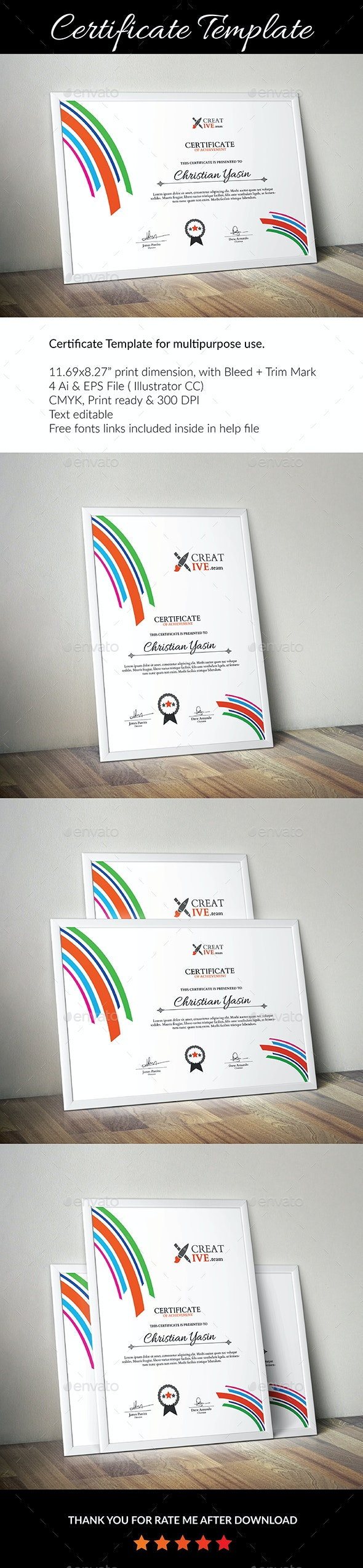 Certificate Template_01 - Certificates Stationery