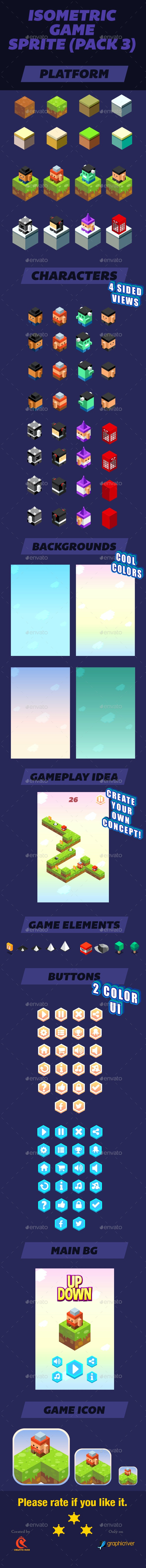 Isometric Game Assets - User Interfaces Game Assets