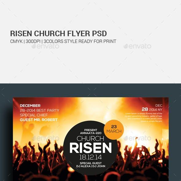 Easter Sunday Church Template Set