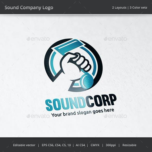 Note in Hand Sound Logo