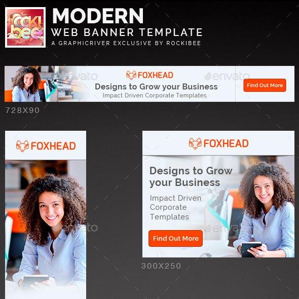 Modern Web Banner Template