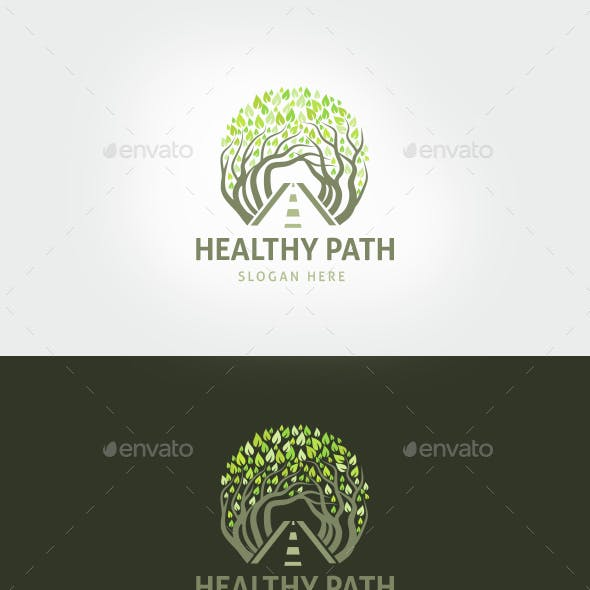 Healthy Path Logo Template