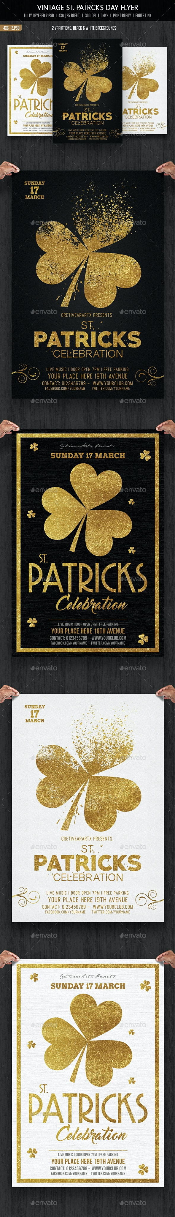 St. Patricks Day Flyer - Events Flyers