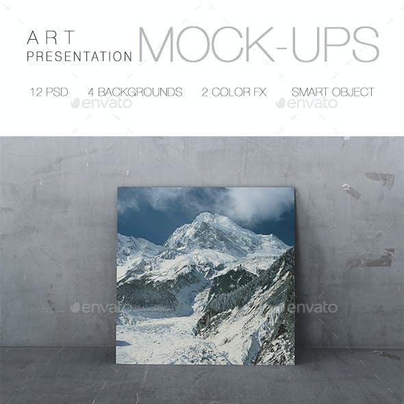 Presentation Art Mock-up
